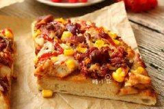 BBQ烤鸡肉披萨的做法