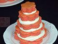 奶油蛋糕塔的做法