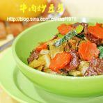 牛肉炒豆丝的做法