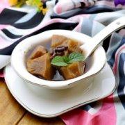 百变甜品 赤小豆红薯糖水的做法