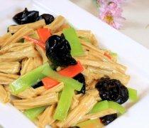 【木耳腐竹的做法大全】木耳腐竹的烹饪技巧_木耳腐竹的营养价值