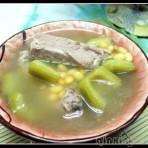 凉瓜黄豆排骨汤