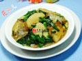 韭菜鹌鹑蛋小素鸡的做法