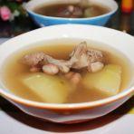 青木瓜花生猪骨汤的做法