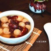蔓越莓红枣桂圆糖水的做法