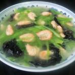 河虾木耳窝笋汤的做法