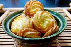 淡奶油曲奇饼干的家常做法
