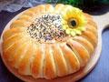 向日葵豆沙面包的做法