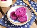 奶香紫薯糕的做法