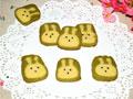 抹茶小兔子曲奇饼干的做法