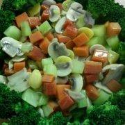 白果烩鲜蔬的做法