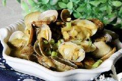 咖喱花蛤的做法