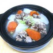 【排骨白萝卜汤的做法】排骨白萝卜汤的功效_排骨白萝卜汤的营养价值