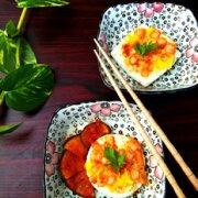 辣白菜煎蛋的做法