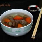 牛蒡胡萝卜汤的做法