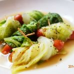 熏火腿肠白菜汤的做法