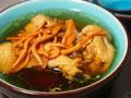 烤箱版虫草花煲鸡汤的做法