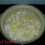 玉米豆腐鸡蛋羹的做法