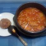 辣白菜牛肉汤的做法
