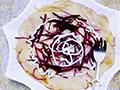 奶香紫薯丝饼的做法