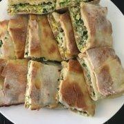 阿拉伯特色小吃 韭菜鸡蛋羊肉宝的做法