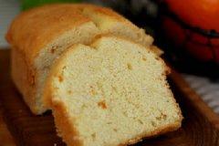 橙香磅蛋糕的家常做法