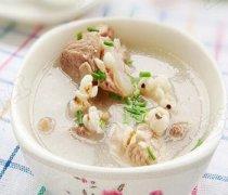 【薏米冬瓜排骨汤】薏米冬瓜排骨汤的做法