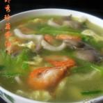 河虾秀珍菇蛋汤的做法