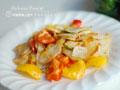 彩椒葱香土豆片的做法