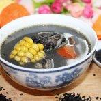 黑芝麻鲫鱼汤的做法