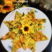 彩蔬鸡蛋饼的做法