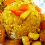咖喱鸡饭的做法