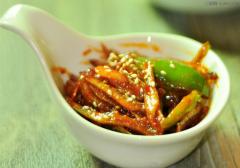 辣椒炒海燕鱼干的做法