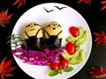 小黄人饭团的做法