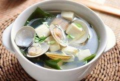 蛤蜊海带豆腐汤的做法视频