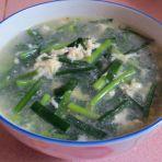 韭菜蛋花汤的做法