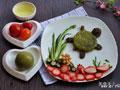 乌龟青团爱心早餐的做法