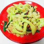 麻香有机花菜的做法