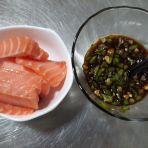 鲜美三文鱼的做法