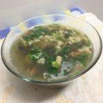 口蘑汤的做法