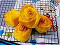 南瓜玫瑰面包的做法