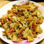 蟹黄炒蛋的做法