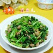 五花肉花生米炒芹菜的做法