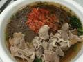 羊肉片热汤冷面的做法