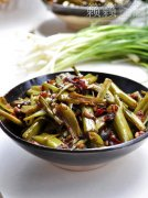 豉椒煸菜梗