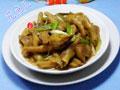 大葱大豆蛋白炒凤爪的做法