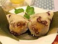 广东咸肉蛋黄粽子的做法