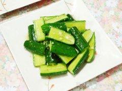清香不辣凉拌黄瓜的做法