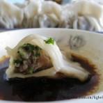 香菜饺子的做法