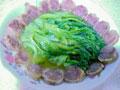 腊肠炒生菜的做法